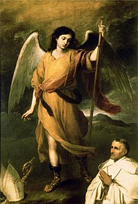 https://upload.wikimedia.org/wikipedia/commons/thumb/9/97/Saint_Raphael.JPG/200px-Saint_Raphael.JPG