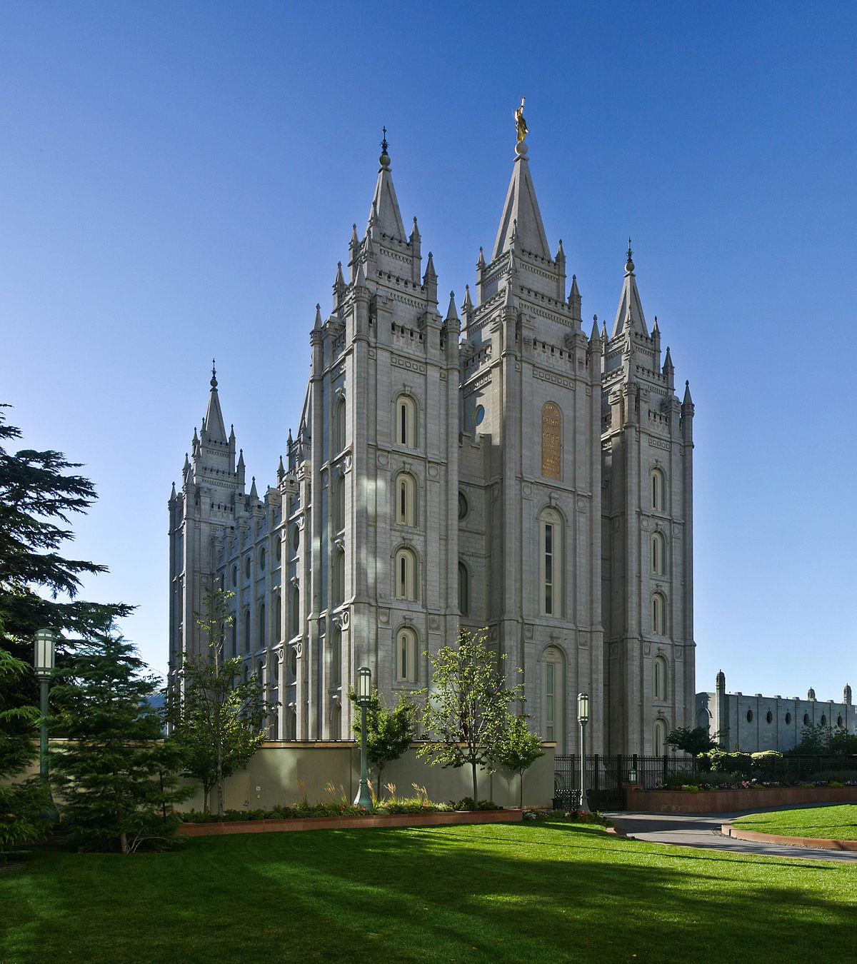 Mormon Tabernacle In Salt Lake City Utah