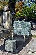 Salwator Cemetery, grave of Andrzej Wajda (Polish film and theatre director), Waszyngtona Avenue, Kraków, Poland.jpg