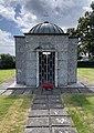 Sam Eyde 1866-1940 Mausoleum Gravsted Borre kirke (church) Horten (Oslofjorden Norway) Kirkegård gravlund (cemetery) 2021-07-08 IMG 8110.jpg