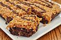Samoas Brownies (15819665490).jpg