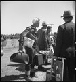 San Bruno, California. Evacuees of Japanese ancestry have just arrived at this Assembly center. Th . . . - NARA - 537496.tif