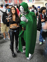File:San Diego Comic-Con 2011 - X-23 and Doctor Doom (5993391798).jpg