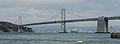 San Francisco–Oakland Bay Bridge, Partial View from Embarcadero 20110804 1.jpg
