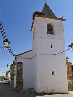 San Pedro Apóstol (Campanario). San Pedro de Mérida.jpg