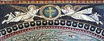 San vitale, ravenna, int., presbiterio, mosaici di sx 03 angeli.JPG