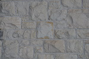 Fort Yellowstone - Sandstone blocks, Double Captain's quarters