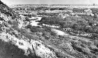 Santa Cruz River (Arizona) - Image: Santa Cruz River From Sentinel Peak Arizona 1904