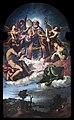 Santa Maria dei Carmini (Venice) - Saint Nicholas in Glory with Saints John the Baptist and Lucy by Lorenzo Lotto.jpg