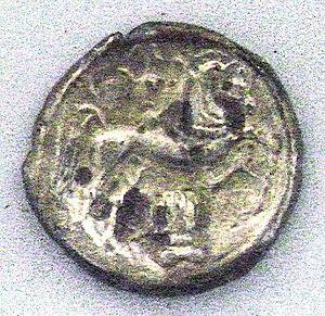 Santones - Coin of the Santones, 1st century BC (Cabinet des Médailles)