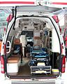 Sapporo Fire Bureau Ambulance Toyota Himedic cold district specification interior.jpg