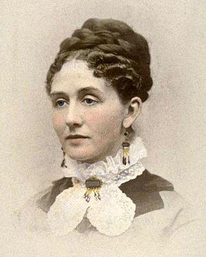 Sarah Brown Ingersoll Cooper - Cooper in 1874