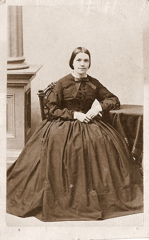 Sarah Fuller - Fuller circa 1860's. Photo by James Wallace Black