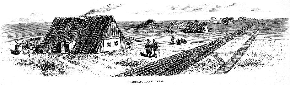 Saraj in Gnadenau, Kansas