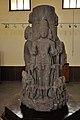Sarvatobhadra Shiva Linga Representing Brahma Vishnu Maheshwar and Surya - Circa 9th Century CE - ACCN TAN-2008 - Government Museum - Mathura 2013-02-23 5308.JPG