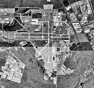 Savannah/Hilton Head International Airport - USGS 1999 orthophoto