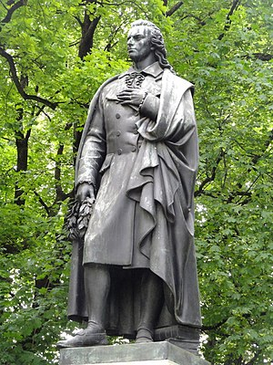 Schiller Park, Columbus, Ohio - Image: Schiller Denkmal München DSC07425