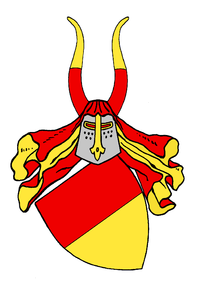 Coat of arms of the county of Schwerin, as used by the Mecklenburg dukes in their great coat of arms