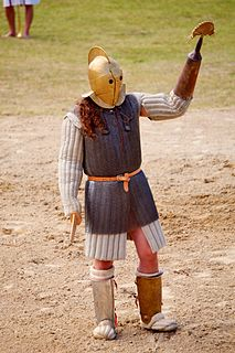 type of Ancient Rome gladiator