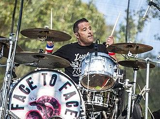 Danny Thompson (drummer) - Image: Scott Shiflett performing in 2011