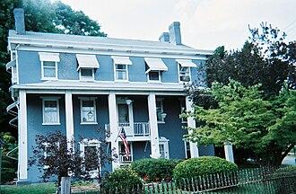 Scottdale, Pennsylvania - Jacob Loucks House (1853), Scottdale's oldest building