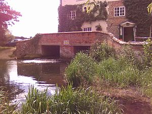 Sculthorpe, Norfolk - The former water mill, beside a ford.