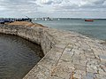 Sea wall, Calshot Castle - geograph.org.uk - 1778430.jpg