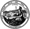 Seal of California, 1895, from the California Blue Book, page 299.jpg