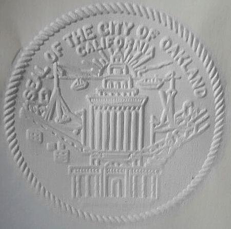 Official seal of Oakland, California