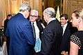 Secretary Kerry Chats With Group of Fellow Ministers Before Paris Meeting Focused on Gaza Cease-Fire (14562350398).jpg
