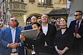 Secretary Pompeo Tours Old City Bern UNESCO World Heritage Site (47980280172).jpg