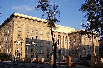 Silesian Voivodeship (1920–39) - Silesian Parliament building in Katowice as it looks today