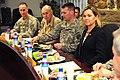 Senator Baucus, representatives visit Camp Eggers (4507525058).jpg