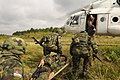 """Serbian Army exercise with NATO """"MEDEVAC Training at Rapid Trident 2011"""".jpg"""