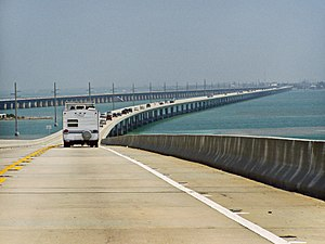 Licence to Kill - Image: Seven Mile Bridge, part of the Overseas Highway