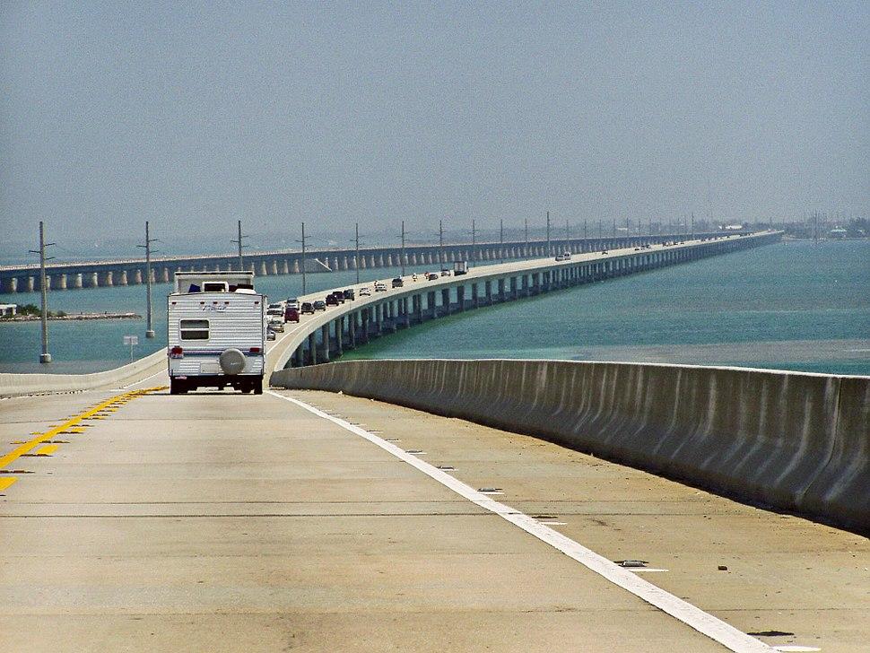 Seven Mile Bridge, part of the Overseas Highway