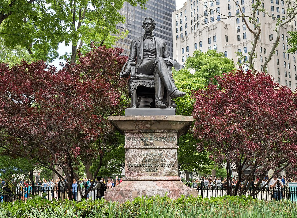 Seward statue in Madison Square Park (00284)