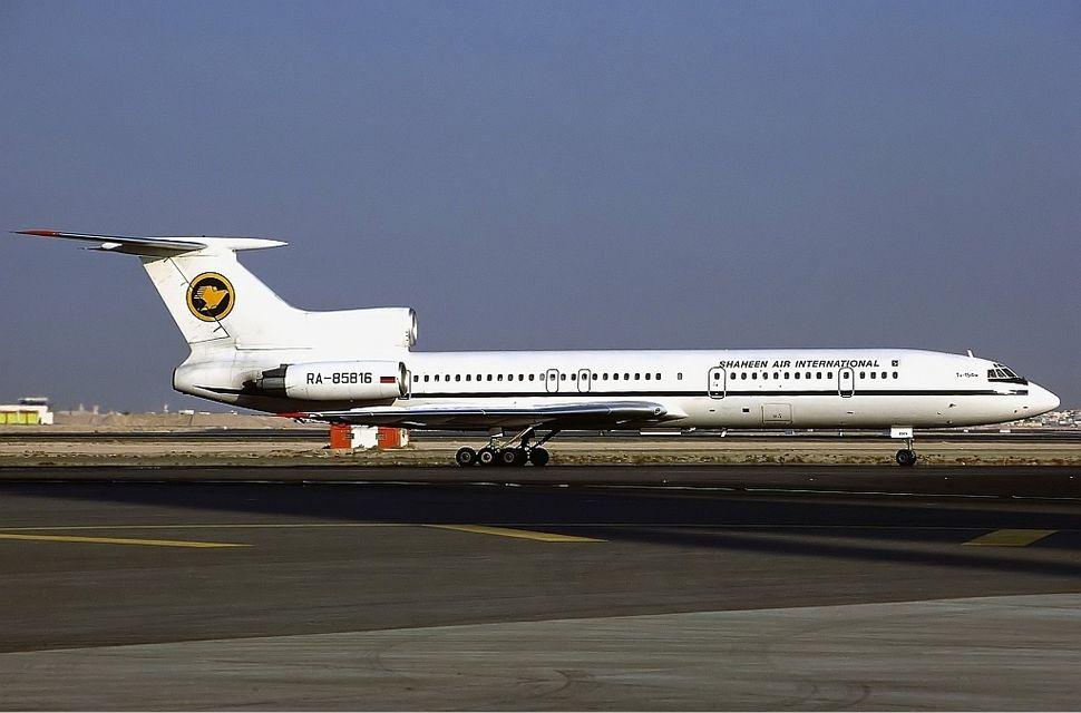 Shaheen Air International Tupolev Tu-154M Hoppe