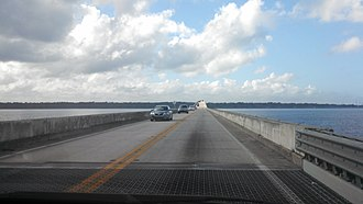Shands Bridge - Image: Shands bridge 2
