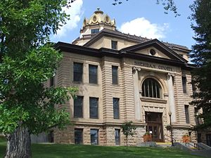 Sheridan, Wyoming - Sheridan County Courthouse