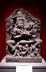 Figure of Shiva and Parvati (Uma-Maheshvara)
