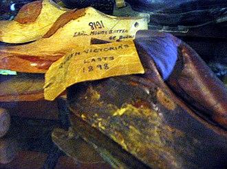 John Lobb Bootmaker - Shoe lasts of Queen Victoria