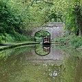 Shropshire Union Canal Bridge No 36, near Gnosall, Staffordshire - geograph.org.uk - 1388906.jpg