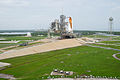 Shuttle Atlantis moments before STS-135 crew boards.jpg