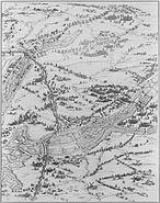 Siege de la Rochelle par louis XIII et Richelieu du 10 aout 1627 au 28 octobre 1628 planche 6 Jacques Callot 1592 1635
