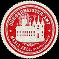 Siegelmarke Bürgermeister-Amt Maria Zell-Steiermark W0317901.jpg