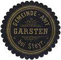 Siegelmarke Gemeinde-Amt Garsten bei Steyr W0333045.jpg