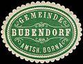 Siegelmarke Gemeinde Bubendorf - Amtshauptmannschaft Borna W0253565.jpg