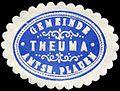 Siegelmarke Gemeinde Theuma - Amtshauptmannschaft Plauen W0226343.jpg