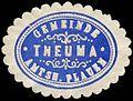 Siegelmarke Gemeinde Theuma - Amtshauptmannschaft Plauen W0252752.jpg